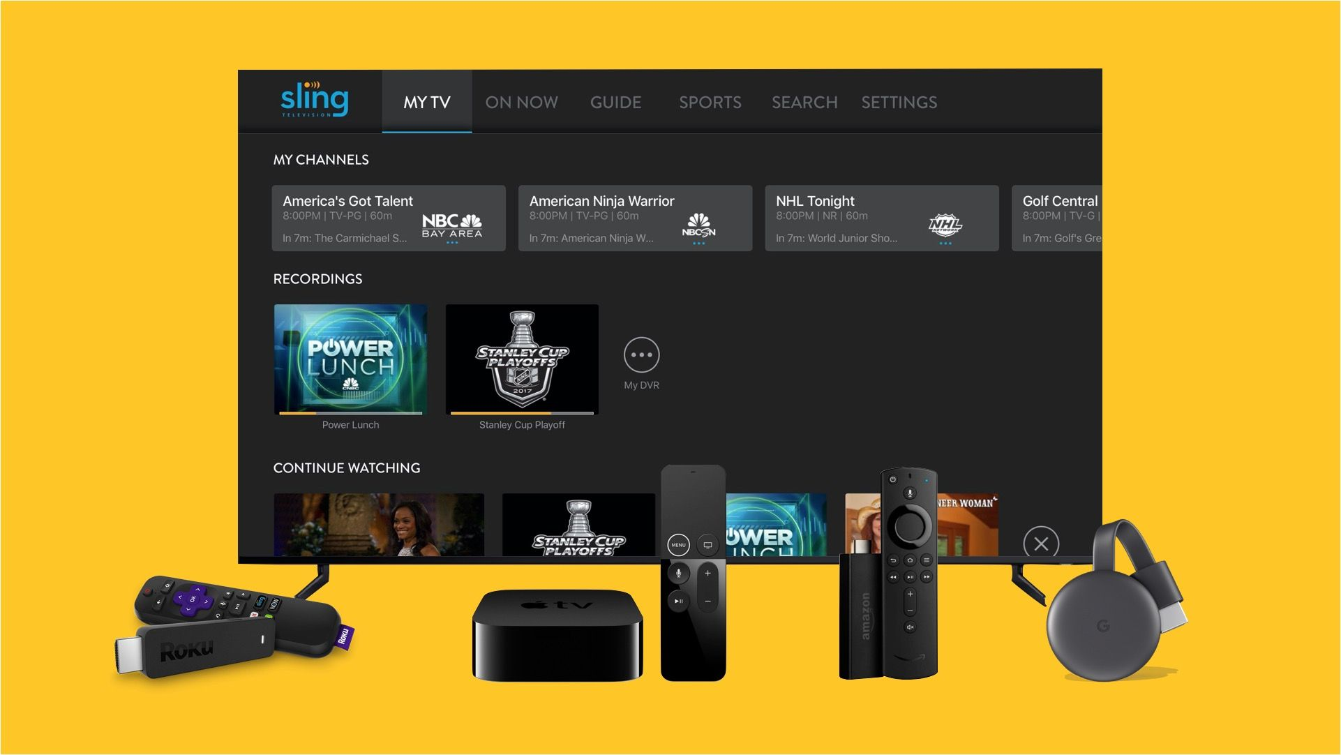 DEAL ALERT Existing Sling TV Subscribers Get 5 Extras For