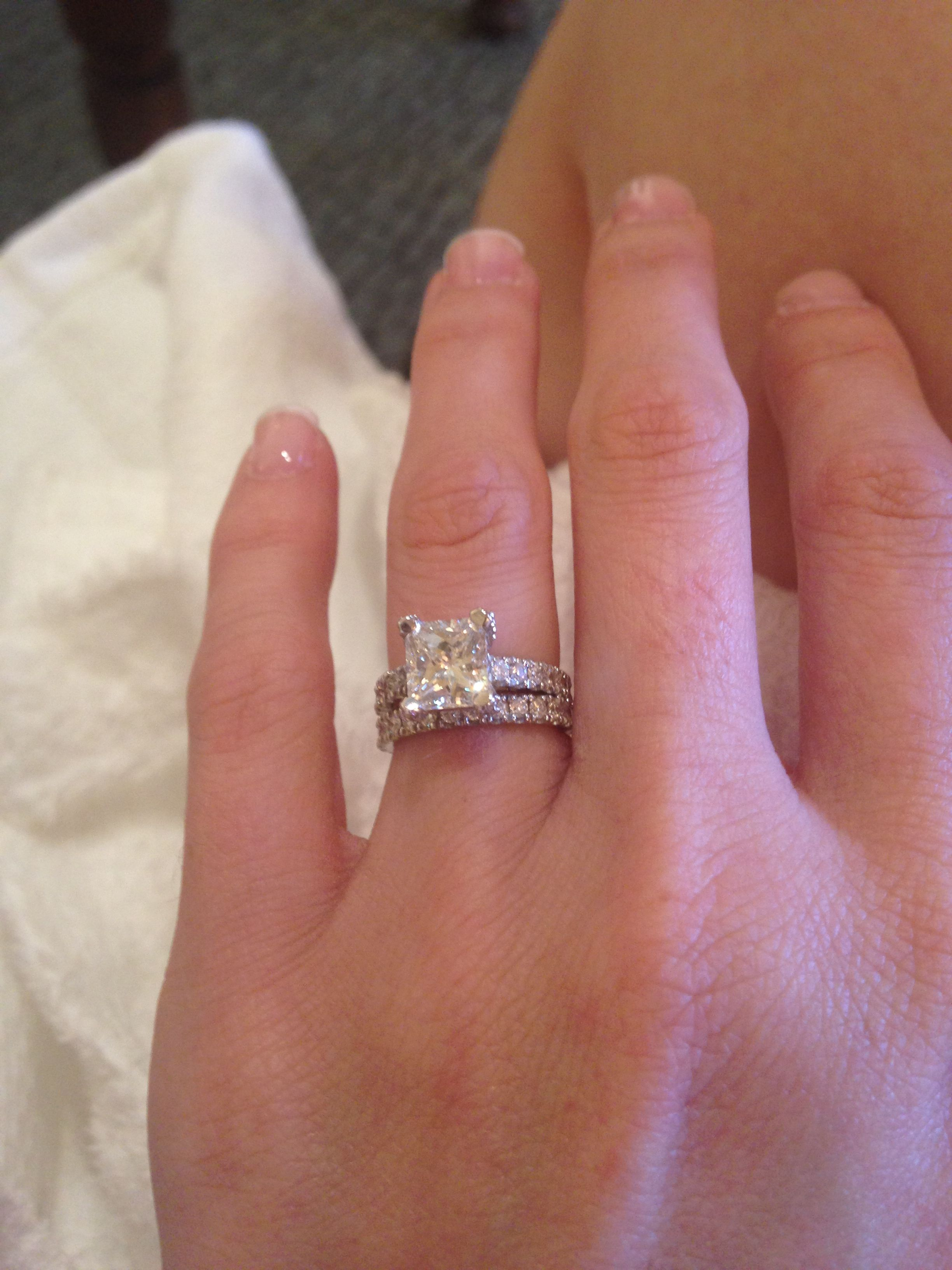 Most beautiful wedding ring EVER. Thank you husband of mine! Ring ...