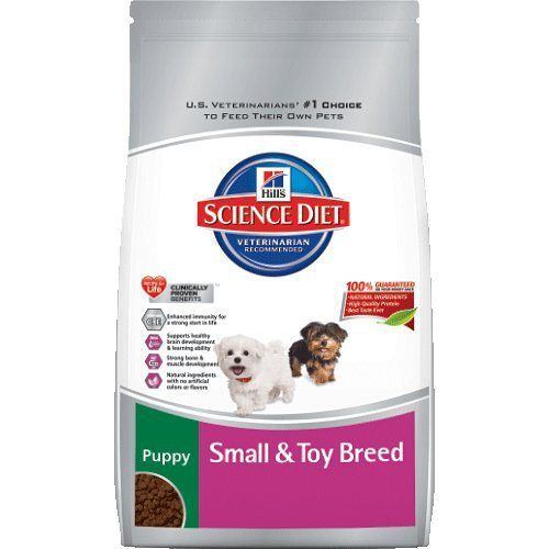 Hill S Science Diet Puppy Small And Toy Breed Dry Dog Food 15 5 Pound Bag Hills Science Diet Dog Food Recipes Science Diet