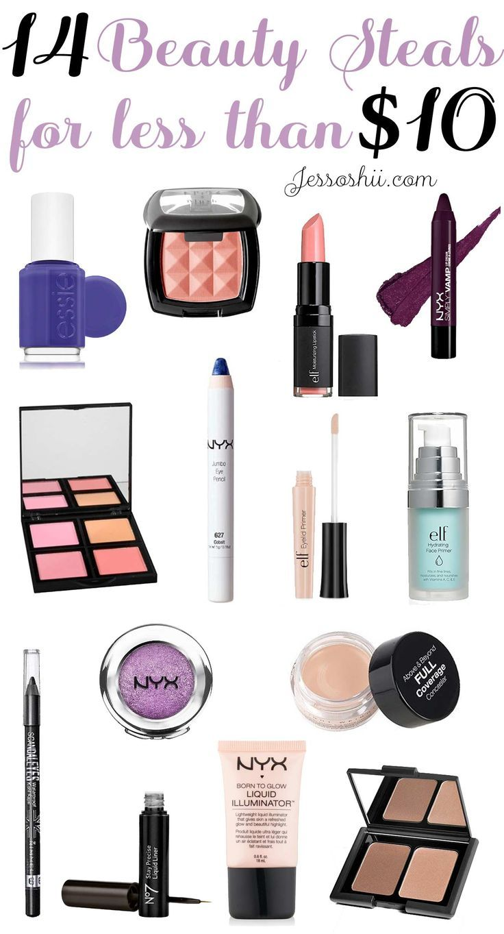 14 Budgetfriendly Makeup & Beauty Buys for 10 or Less