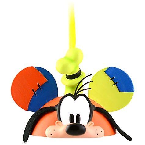 New Disney Goofy Mickey Mouse Ears Hat Ornament