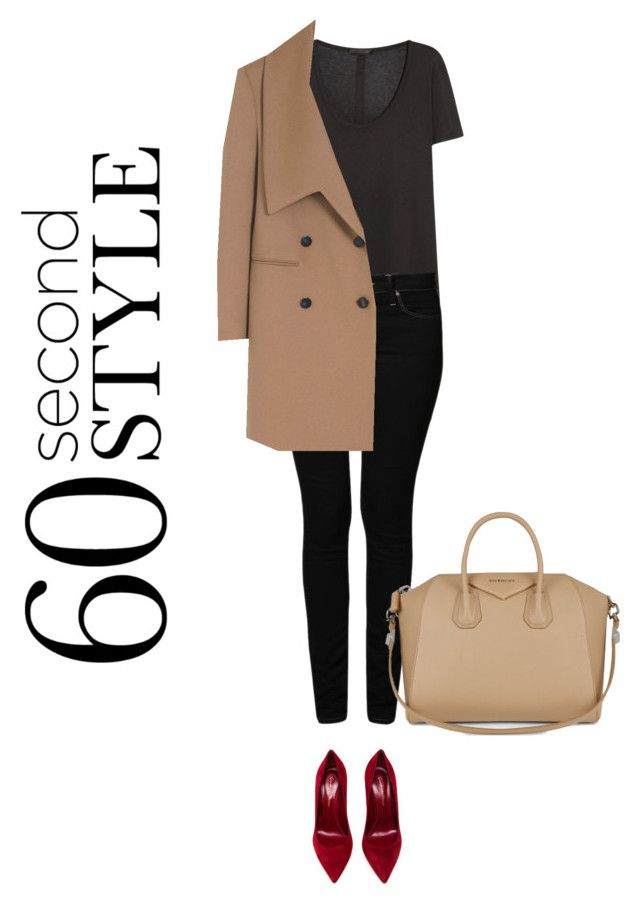60 seconds style #5 by solespejismo on Polyvore featuring polyvore, fashion, style, The Row, Mulberry, Mavi, Gianvito Rossi and Givenchy