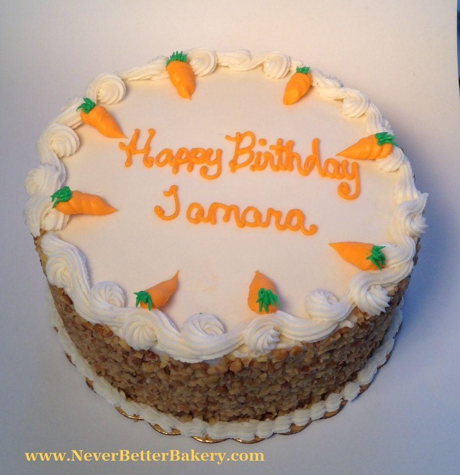 Carrot Cake for a customer's birthday.
