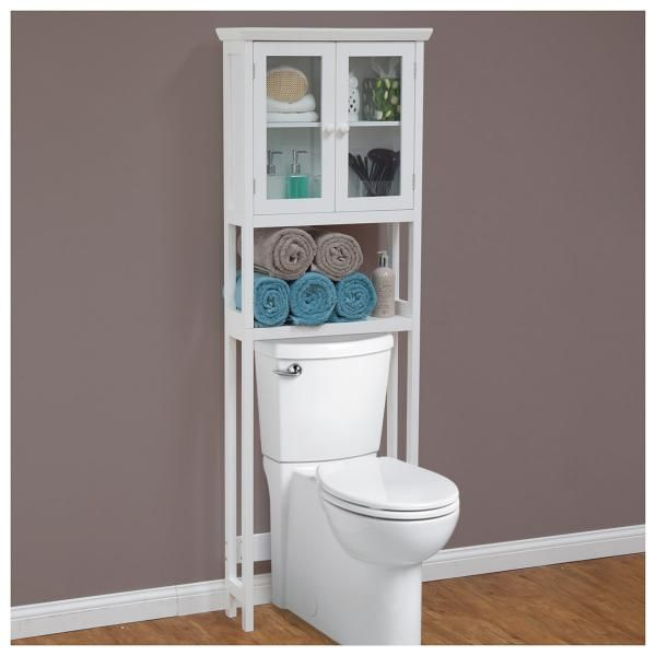 Bathroom Over-the-Toilet Storage Rack   Bathroom Furniture ... on over the toilet furniture, over the toilet storage, over the toilet shower, over the toilet bars, over the toilet tables,