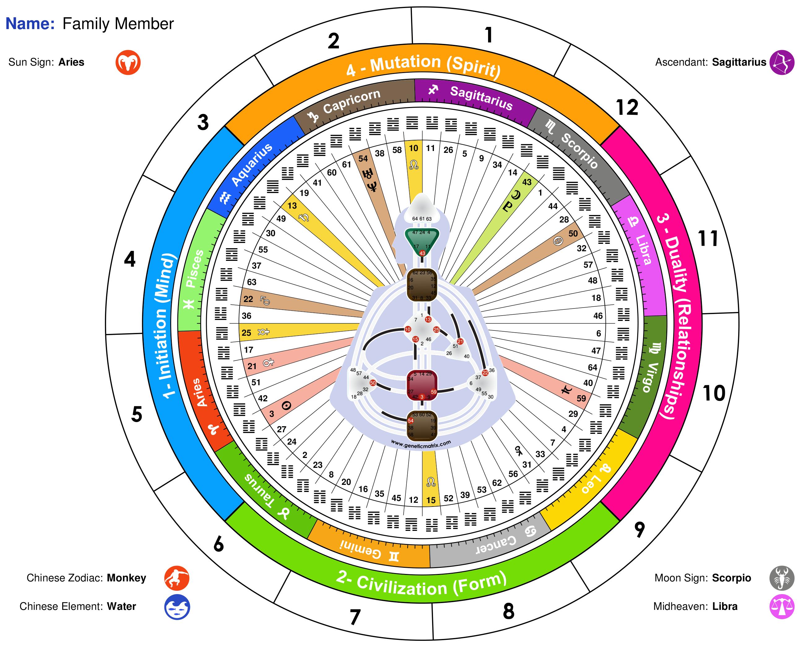 Human Design Astrology Charts #humandesign #astrology # ...