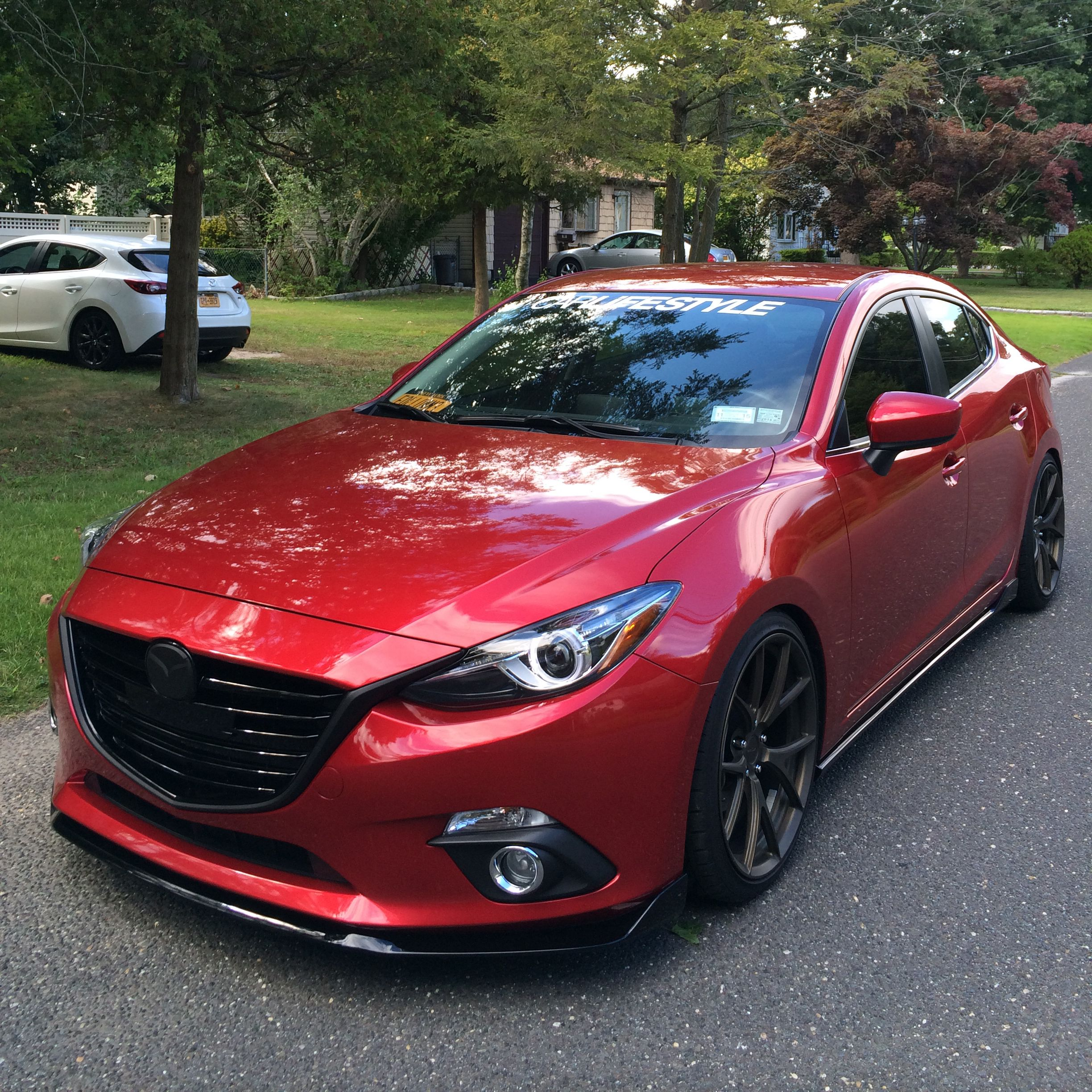 2004 to 2016 mazda 3 forum and mazdaspeed 3 forums view single post vinyl wrapped chrome. Black Bedroom Furniture Sets. Home Design Ideas