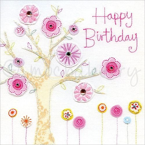 Unforgettable birthday quotes to wish your friend a happy birthday 1 this lovely happy birthday card is based on an original embroidery design bookmarktalkfo Image collections