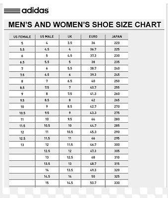 f5c1025d480f2b Adidas Men And Women Size Chart - homeschoolingforfree.org