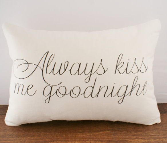 Goodnight Cushion Cover
