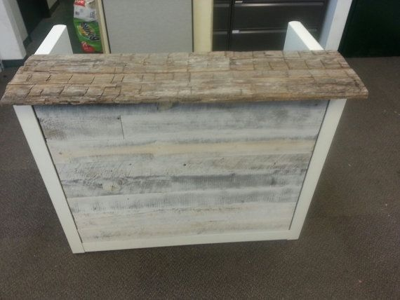 Image Result For White Wash Wood Plank Reception Desk Retail