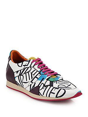 graffiti sneakers Burberry nCA3AAY
