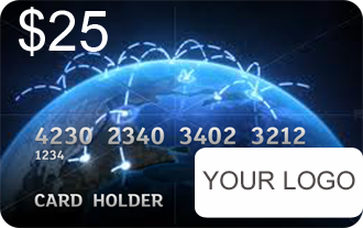 Prepaid Bitcoin Custom cards