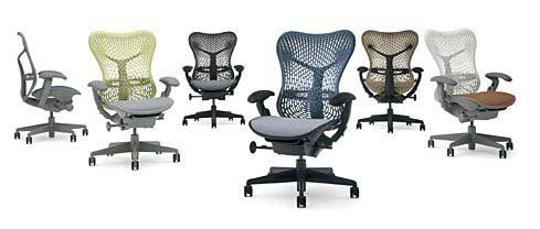 Mirra Chair Herman Miller Fully Highly Adjustable Home Office