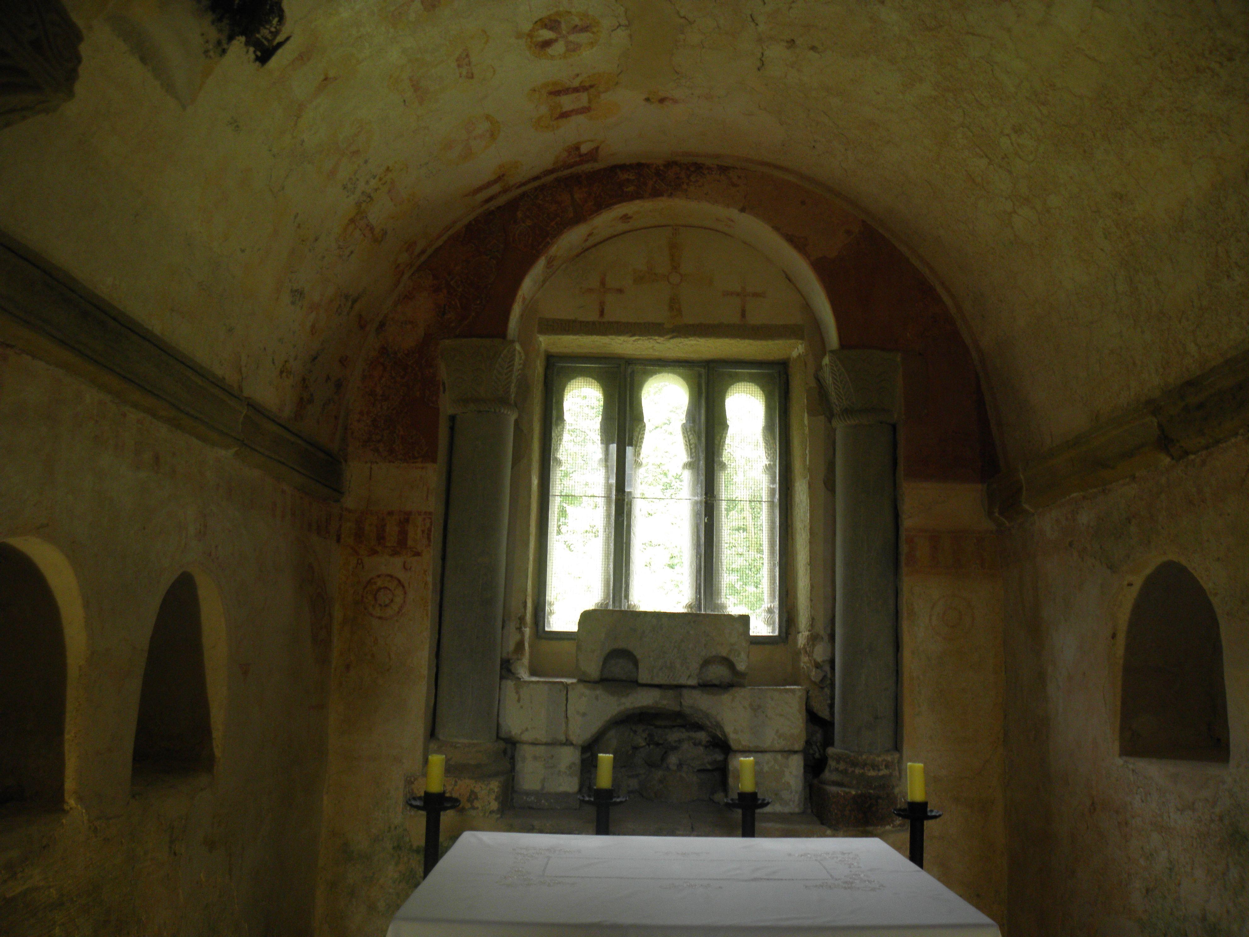 Altar de San Salvador de Valdediós