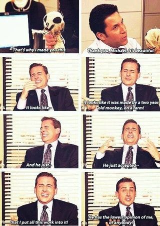 It S Beautiful Michael Thank You The Office Show Office Quotes Office Jokes
