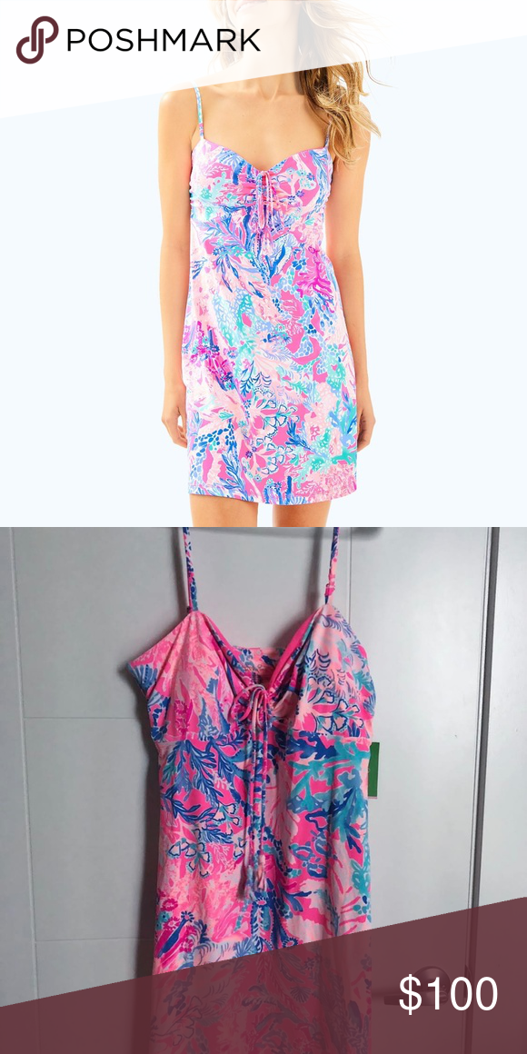 005b97feeda14 I just added this listing on Poshmark: Lilly Pulitzer Margarete Swim Cover  Up Dress Large. #shopmycloset #poshmark #fashion #shopping #style #forsale  #Lilly ...