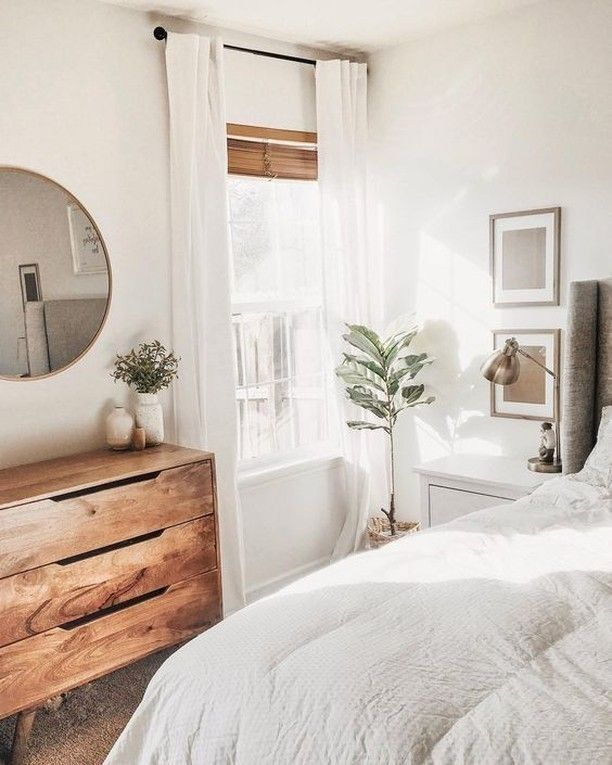 20 tips will help you improve the environment in your bedroom - UDealing #lightbedroom