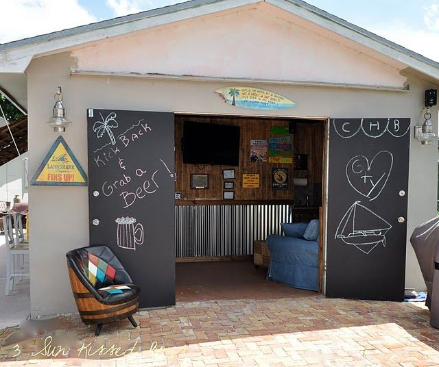 10 Awesome Backyard Man Cave Ideas Man Cave Shed Cool Sheds Backyard Shed