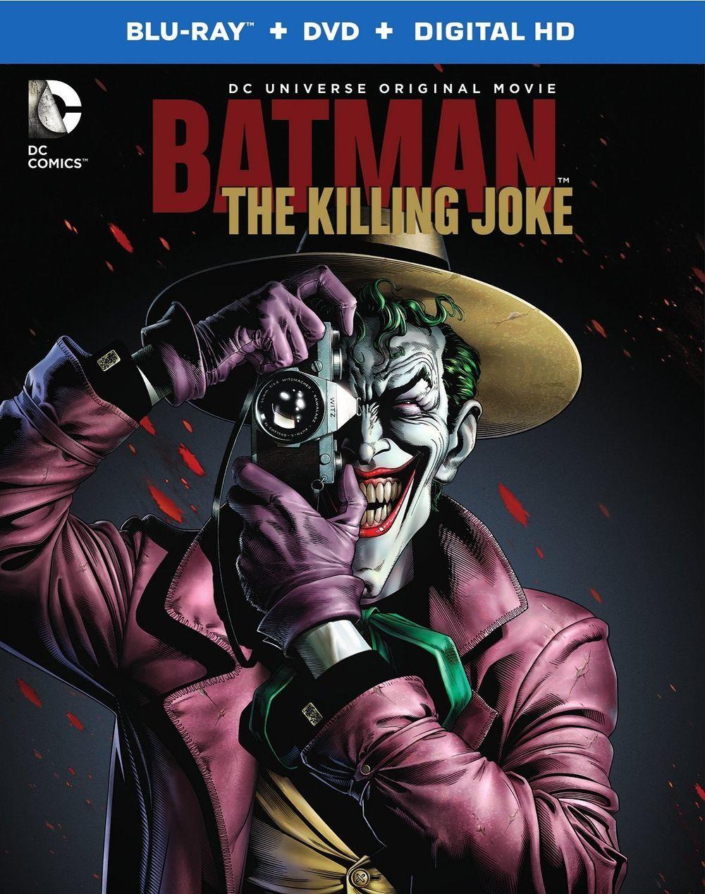 'Batman TheKillingJoke' release date and official cover