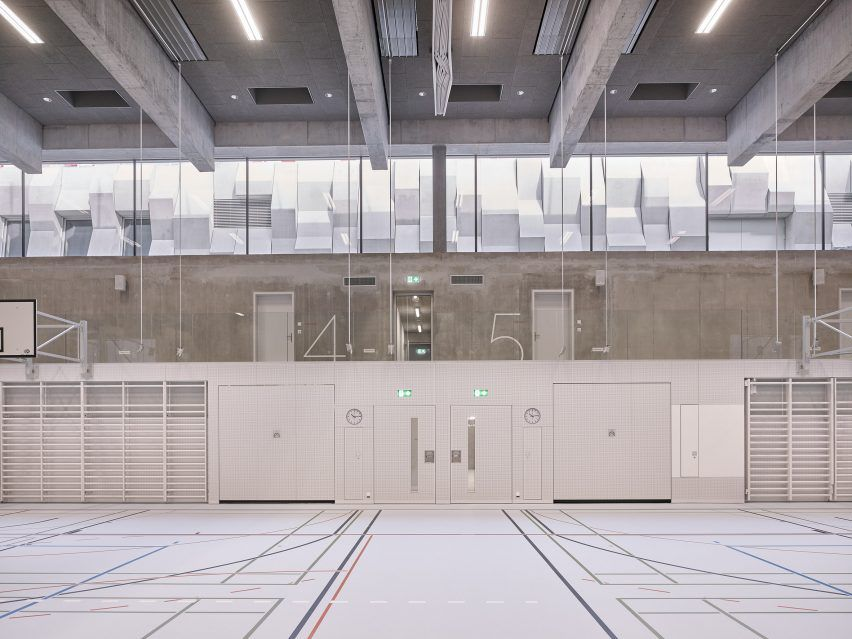 Mlzd Adds Subterranean Sports Hall To School In Former Monastery