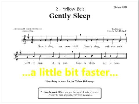 recipe: gently sleep recorder karate [6]