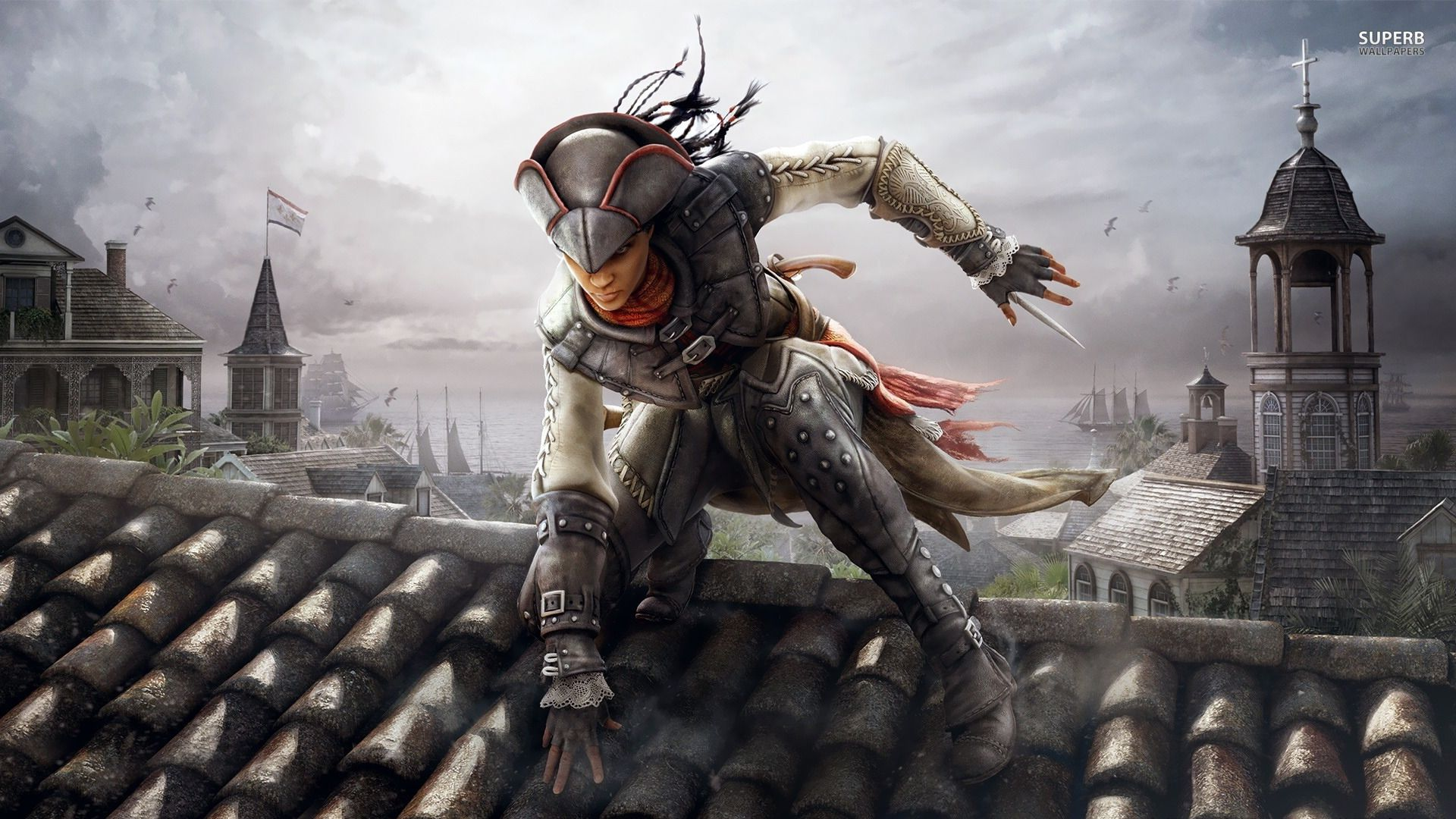 aveline de grandpré assassin's creed 3 liberation wallpaper