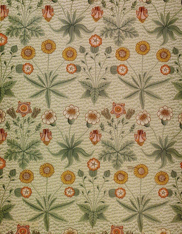 William Morris Daisy wallpaper