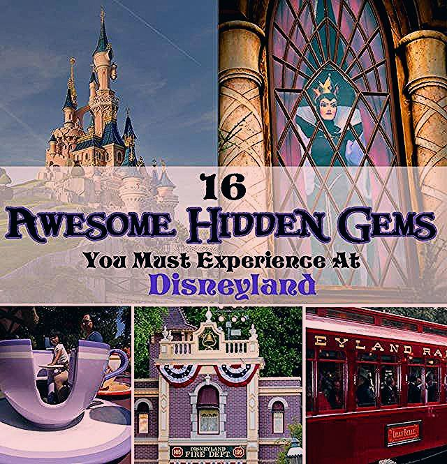 Photo of 16 Awesome Hidden Gems You Must Experience At Disneyland