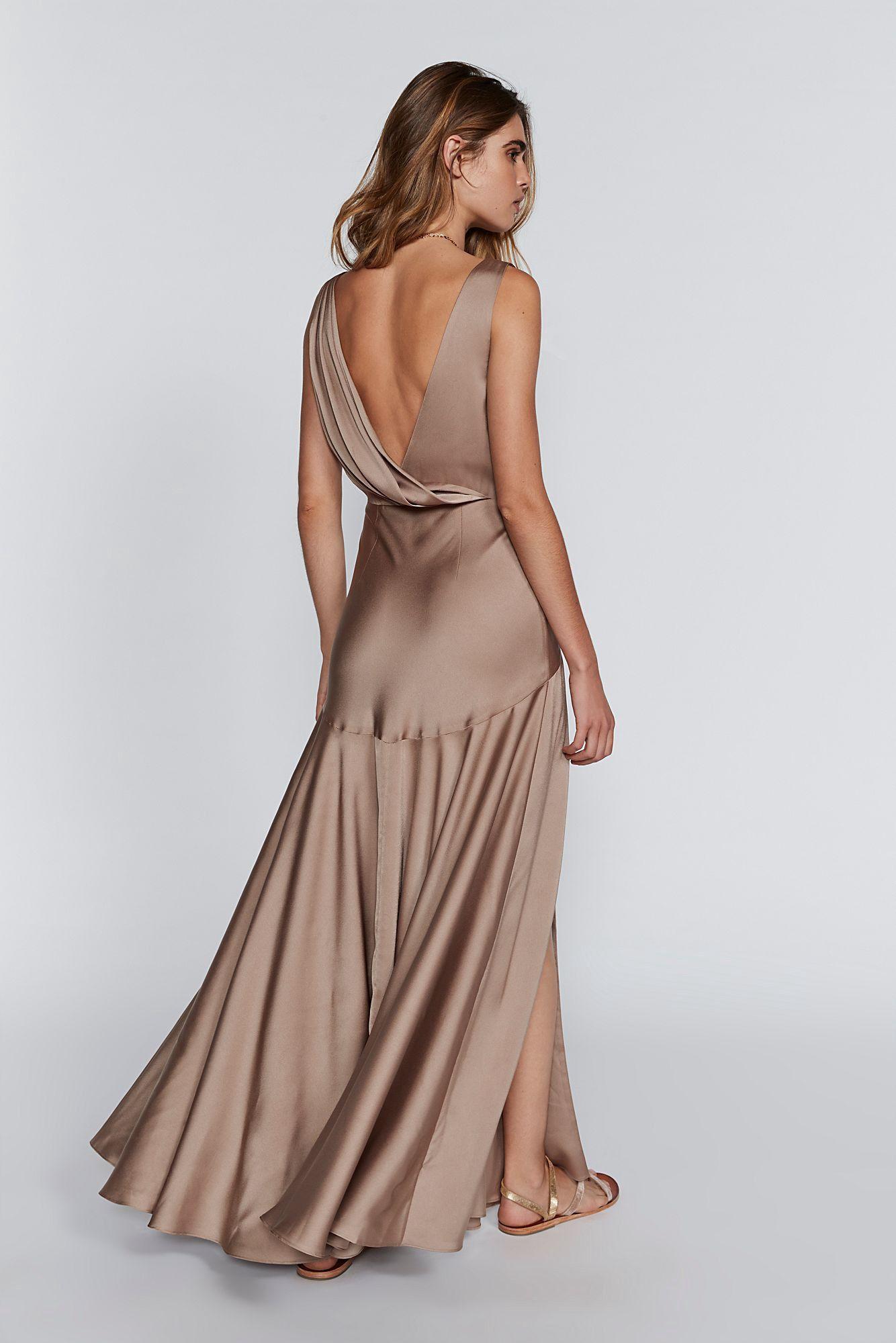 Free People Essie Maxi Dress Dark Tan 2 Maxi Dress Long Sleeve Embroidered Dress Dresses [ 2000 x 1334 Pixel ]