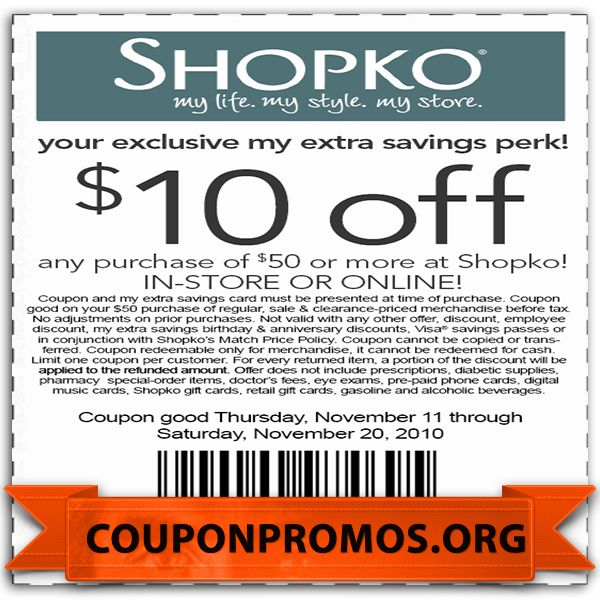 printable coupon for shopko for November December Free Printable - printable vouchers