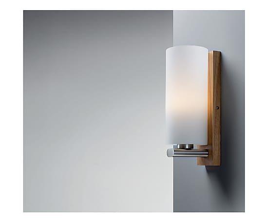 Applique in legno e vetro cycas cm varie