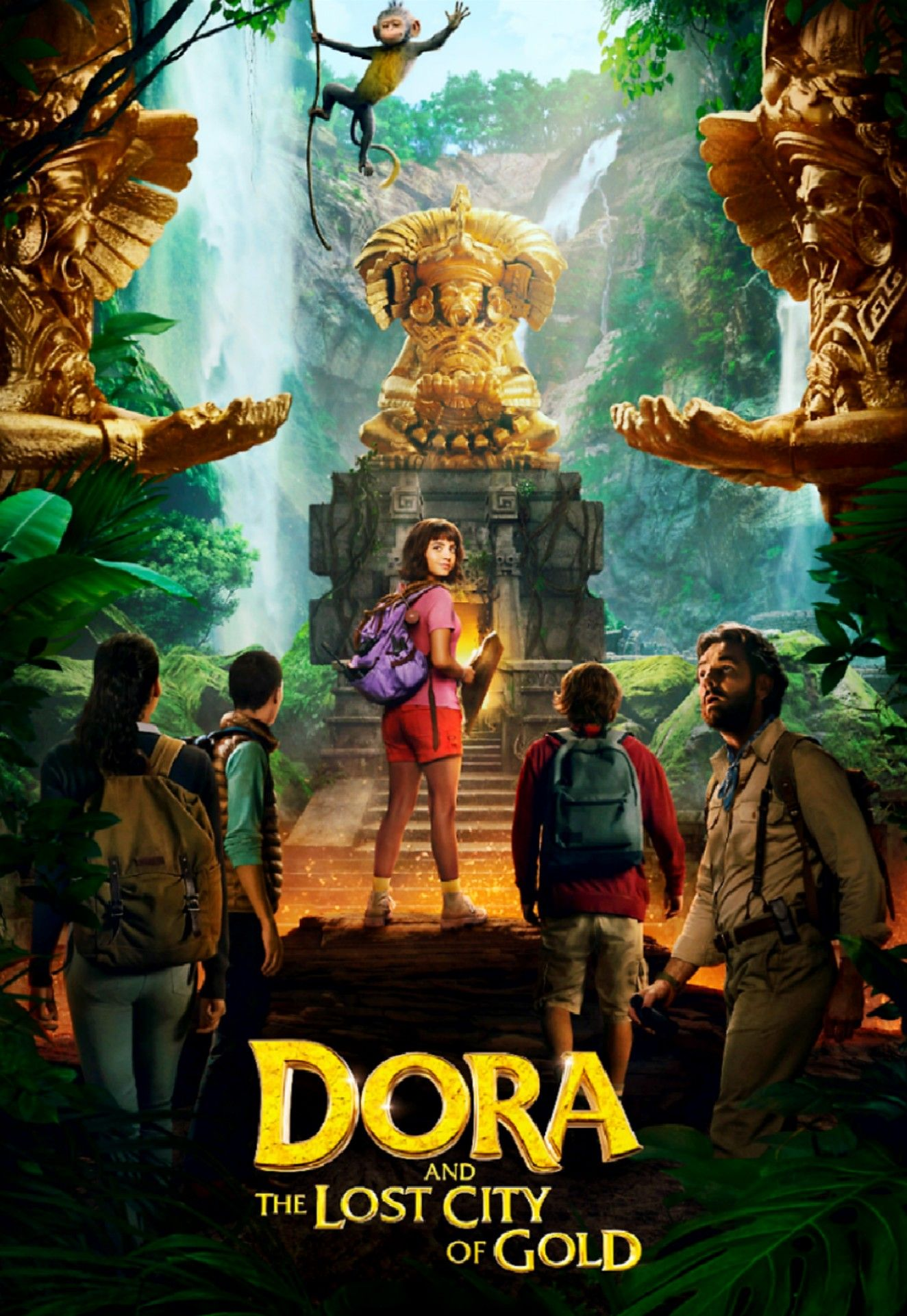 Dora And The Lost City Of Gold Isabela Moner Lost City Of Gold Lost City Full Movies