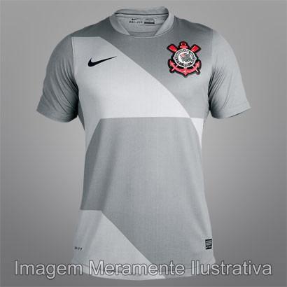 b9ec9c0e3f Camisa Nike Corinthians III 2012 s nº - http   batecabeca.com.br camisa-nike -corinthians-iii-2012-sno.html