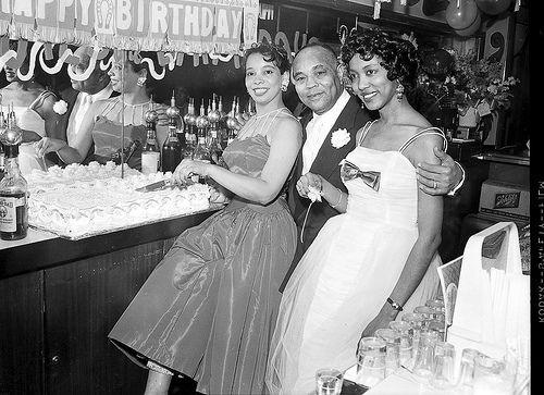 Babe Morris birthday party 1958 2/3 by Black History Album, via Flickr