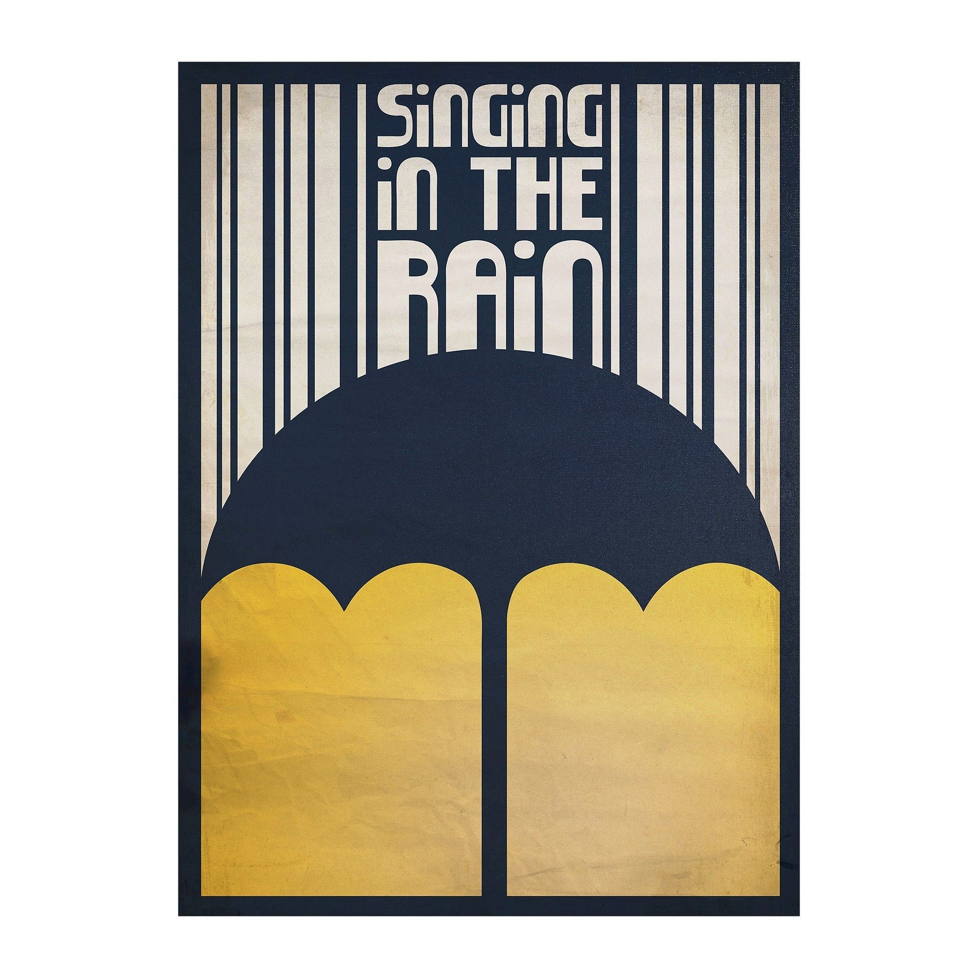 Singing in the Rain\' by Megan Romo Ready to Hang Canvas Wall Art ...