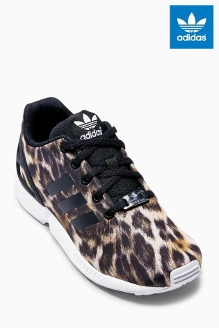 AVANTI CRISTO. obiettato eternamente  Buy adidas Leopard Print ZX Flux (Girls) from the Next UK online shop |  Tenis shoes, Shopping, Baby shoes
