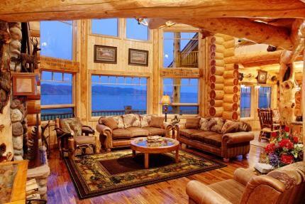 Interiors Log Home Interiors Log Home Living Log Homes