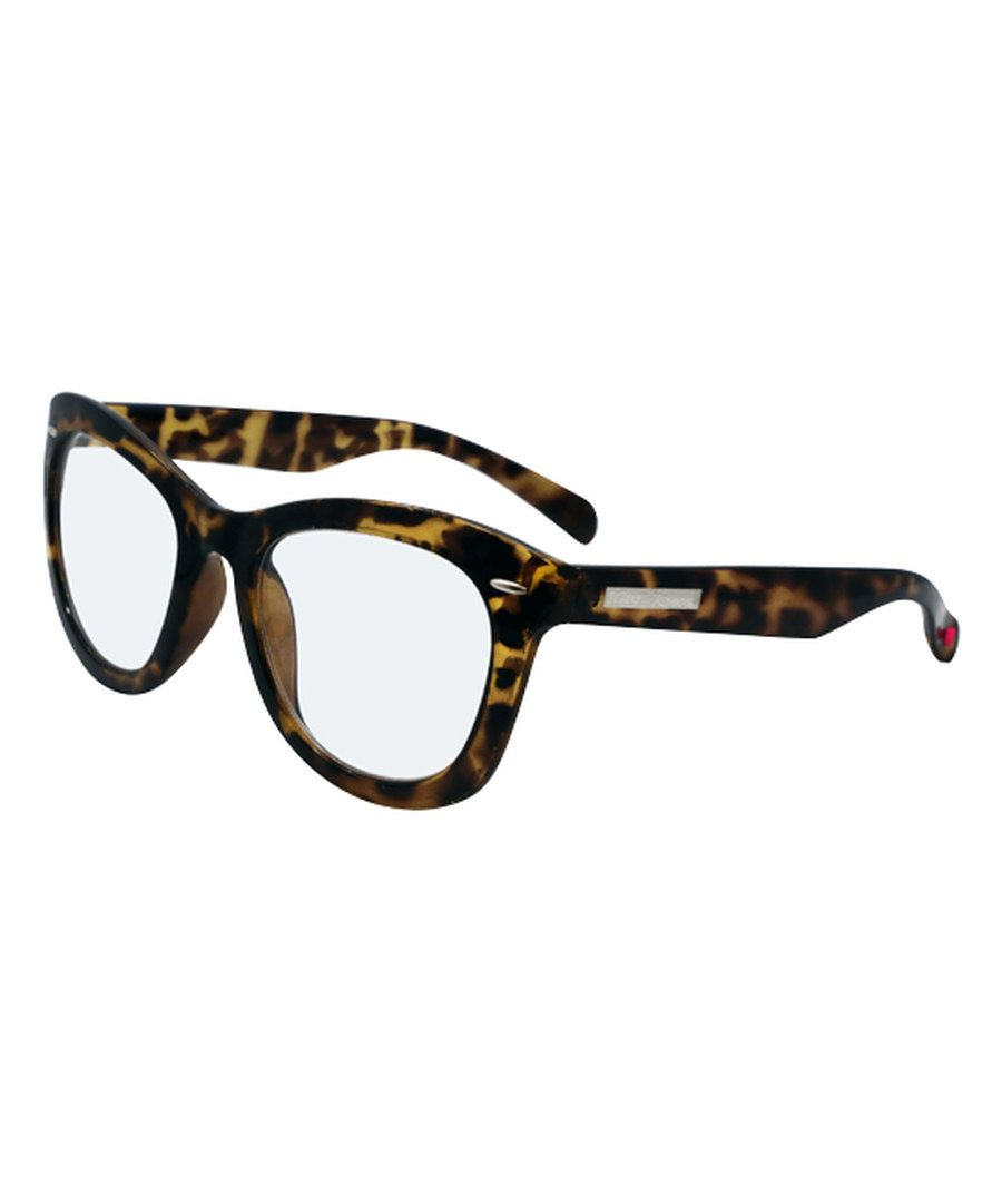 145be621e34 Look at this Betsey Johnson Tortoise Large Retro Readers on  zulily today!