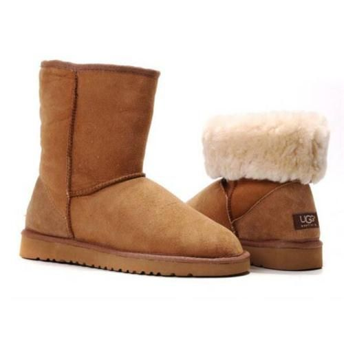 Bottes Ugg France Soldes Classic Court Chataigne