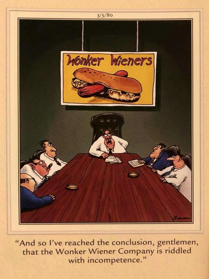 Image result for wonker wieners far side
