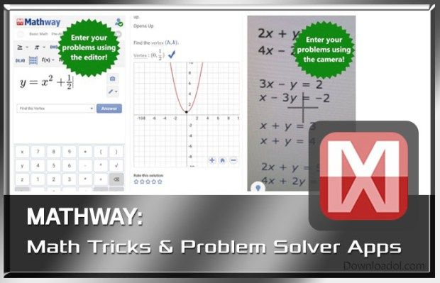Top 5 Best Mathematic Tricks They Saved The Best For Last Check Out Mathway Problem Solvers Math Tricks Algebra Equations