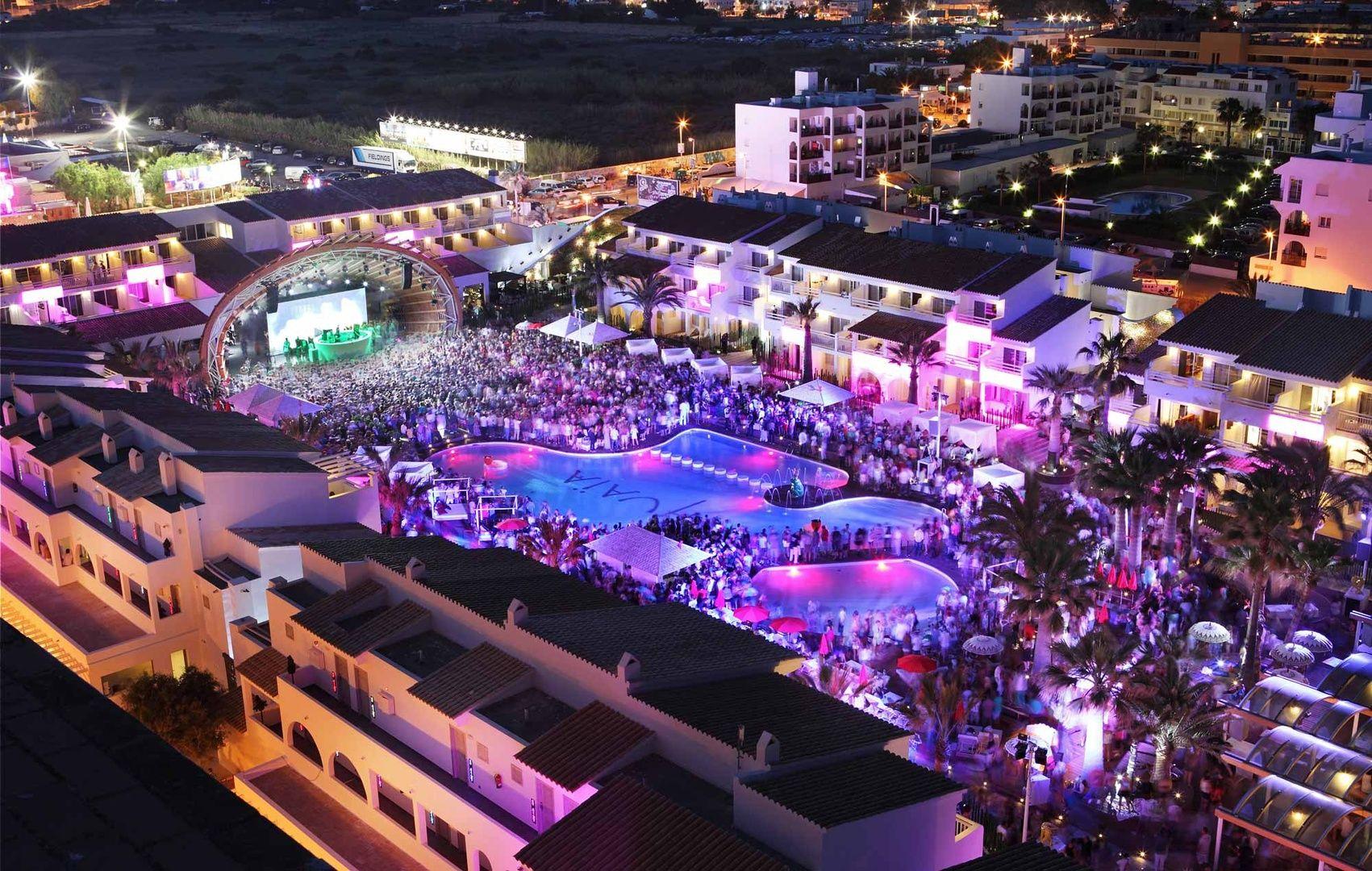 The new Ushuaia Beach Hotel in Ibiza looks like total madness!