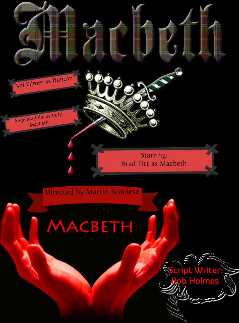 macbeth poster ideas  inspiration