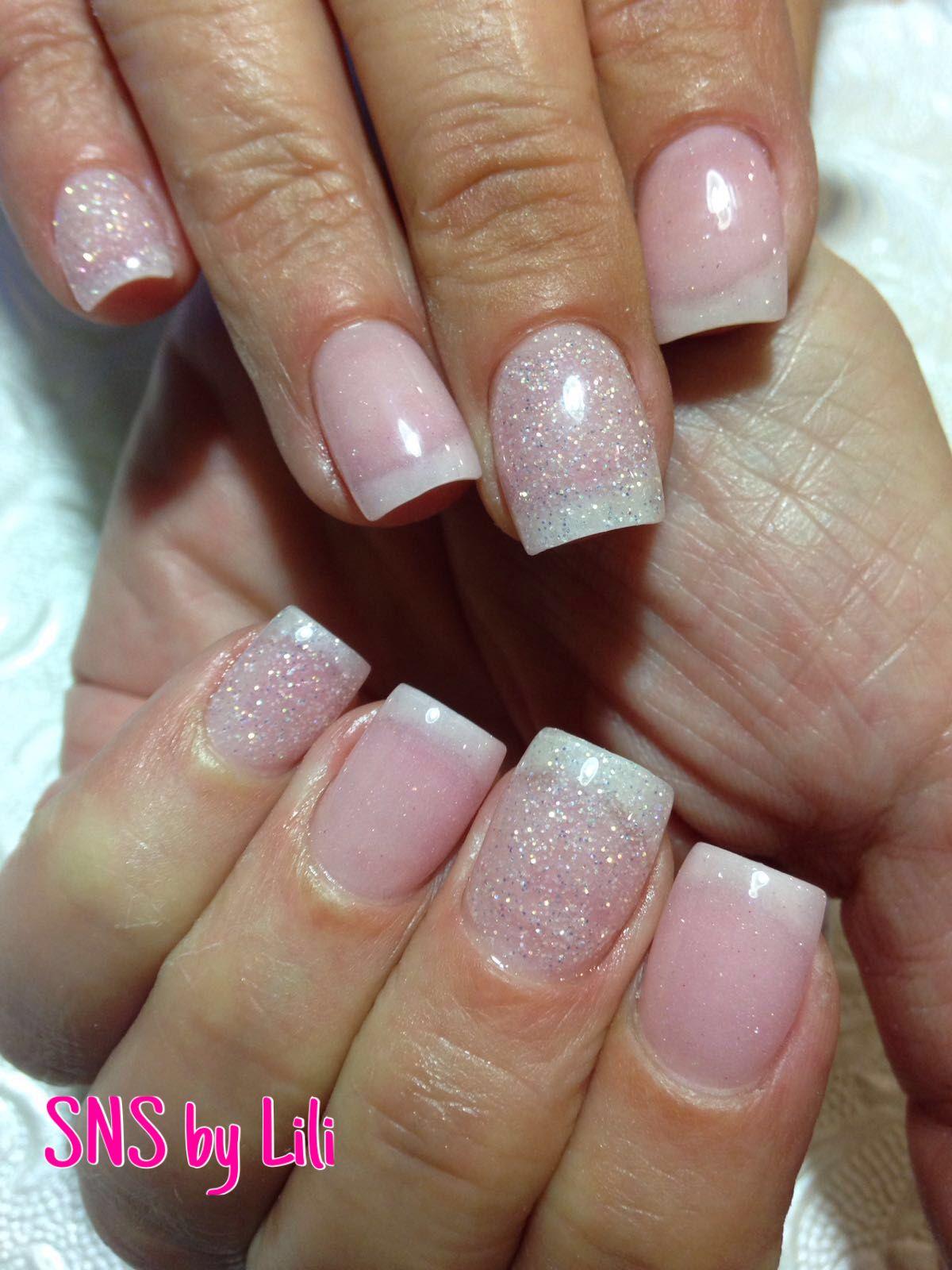SNS nails (dipping powder) by Lili ! - Nails | Pinterest - Nagel ...