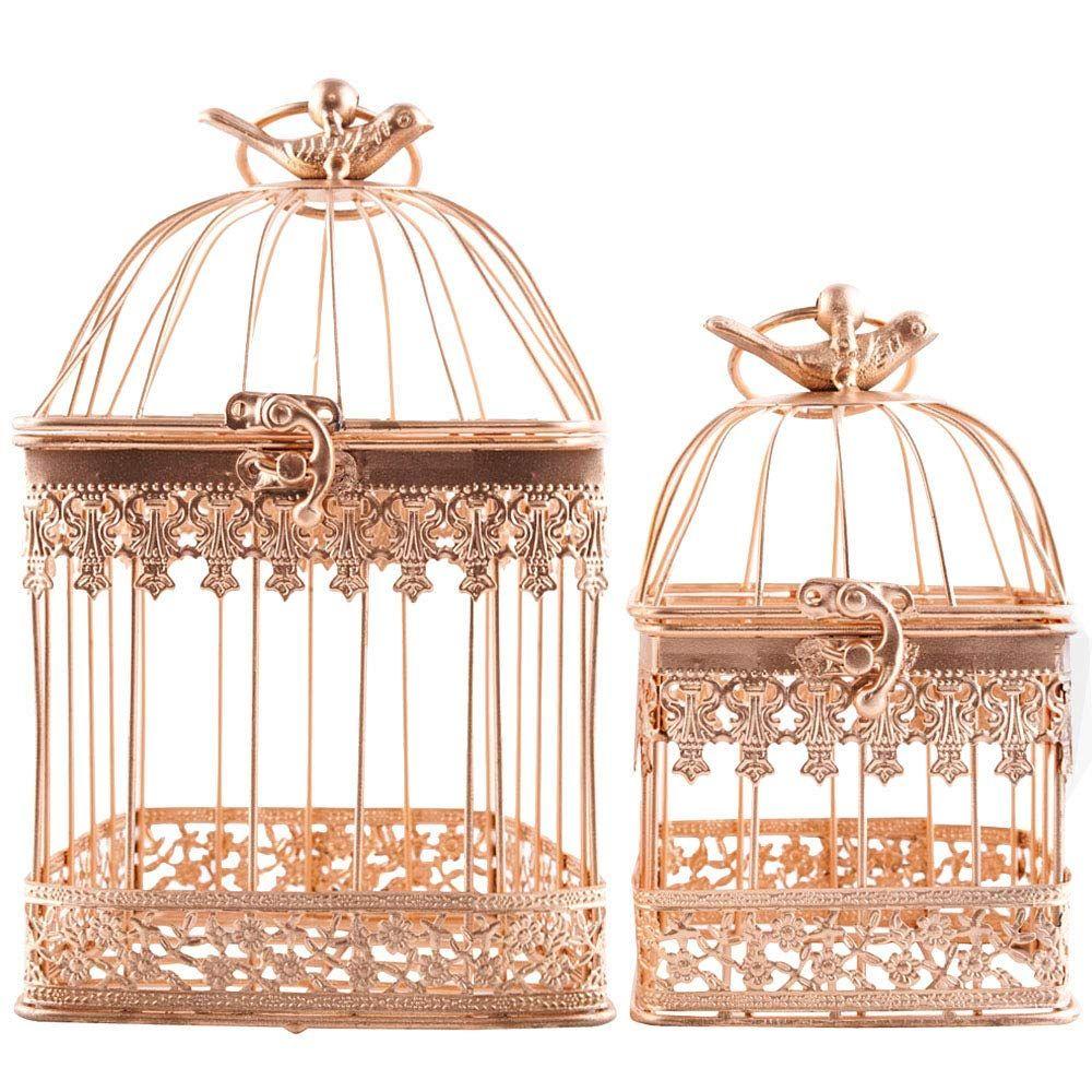 14+ Gold decorative bird cage inspirations
