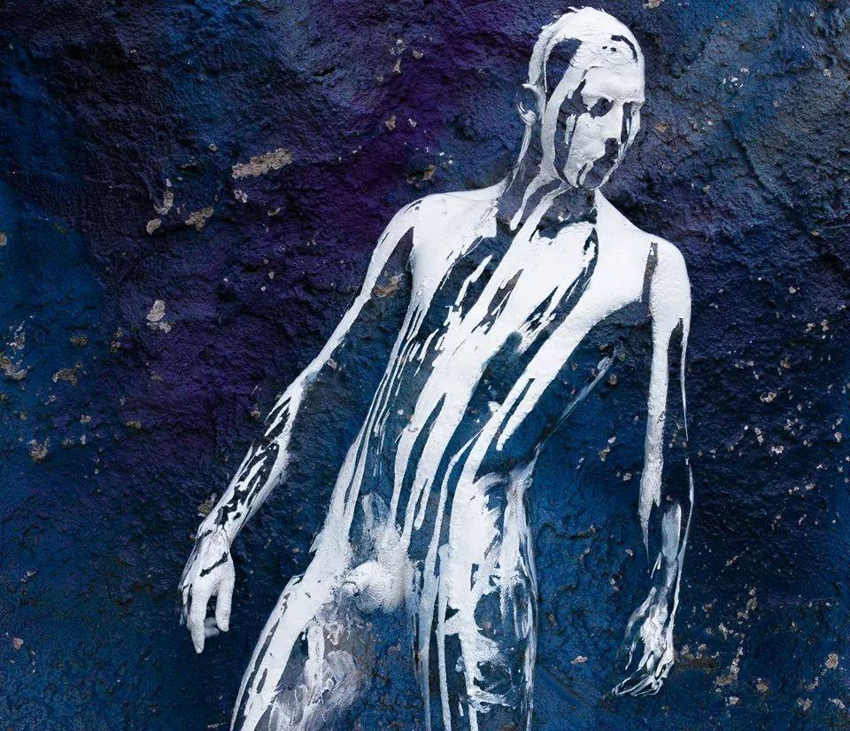 Pintura sobre cuerpo. Luis Aldana Meza