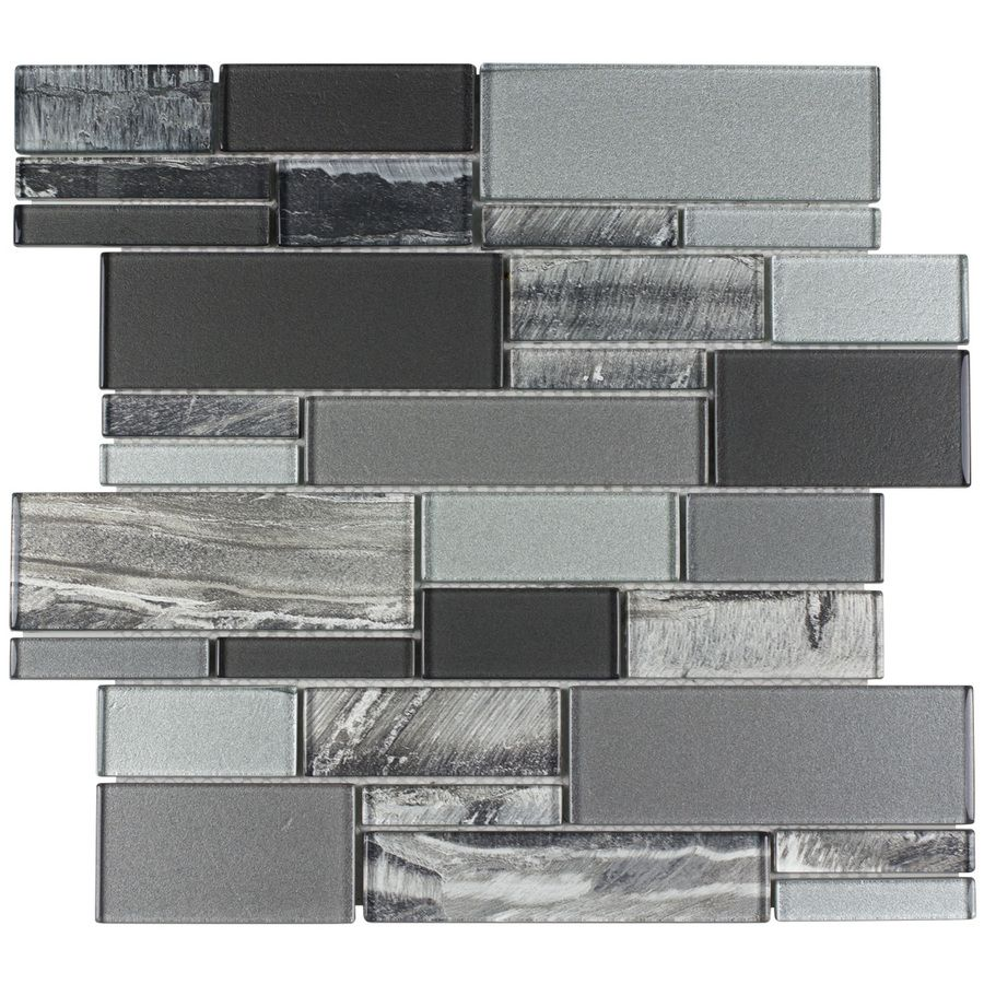 Lowes Decorative Tile 12In X 12In Multicolor Natural Stone Wall Tile Backslash Time