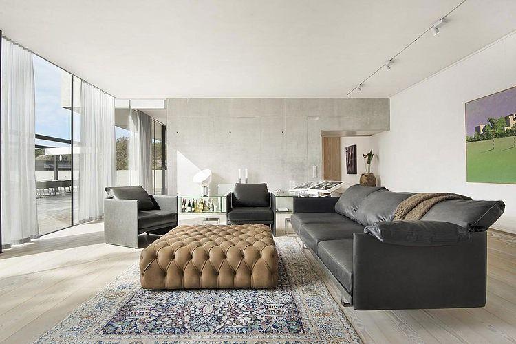 5 20 Modern Seaside Villa in Budskär, Sörö, Sweden 3111 sqft - villa wohnzimmer modern