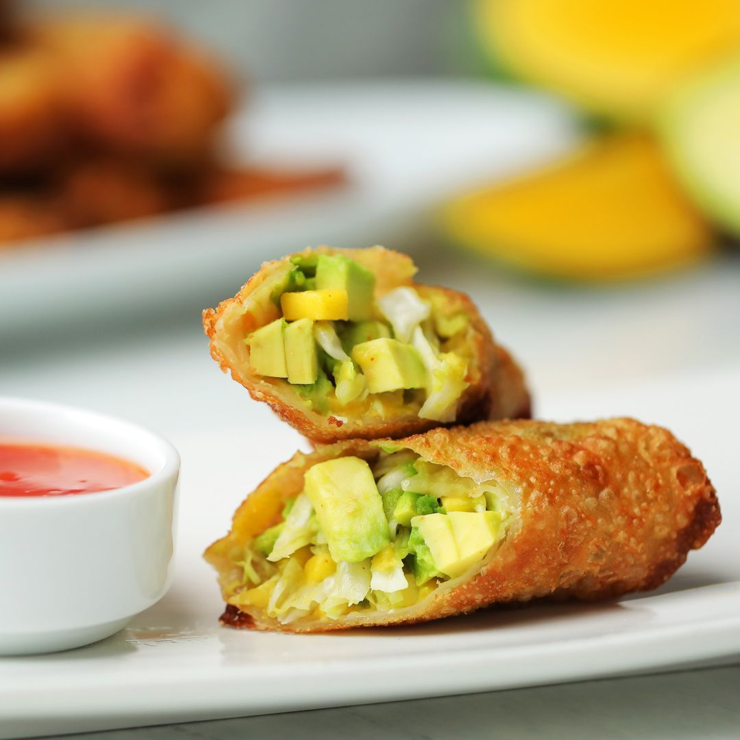 Avocado Egg Rolls Open up a buttery-smooth avocado from Chile to make these delicious egg rolls!