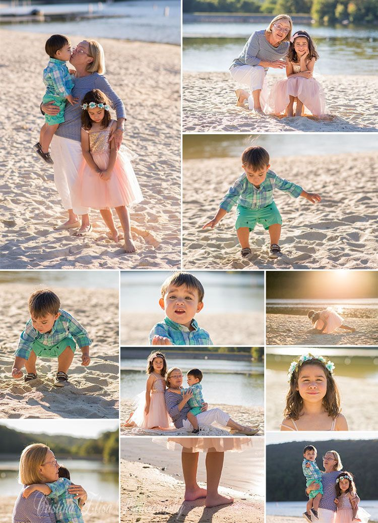 Golden Hour Photography, Family Session, Cristina Elisa Photography, Grandparent photo Session, Beach Photo session, Lake Photography, Cristina Elisa Photography, LLC Frederick, MD #grandparentphoto